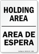 Bilingual Shipping & Receiving Sign