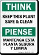 Bilingual Think Sign