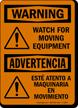 Bilingual OSHA Warning Sign