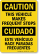 Bilingual Caution / Cuidado Sign