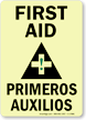 First Aid (with graphic) (Bilingual) (vertical)