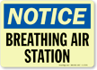 Notice: Breathing Air Station