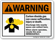 Carbon Dioxide Cause Suffocation, When Alarm Vacate Sign