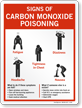 Carbon Monoxide Poisoning Sign