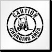 Forklift Stencil