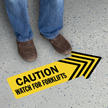 Caution Look for Forklifts