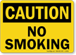 Caution: No Smoking