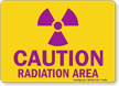 Radiation Warning Sign