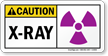 Caution: X-Ray Sign
