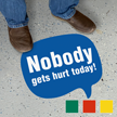 Chat Bubble - Nobody Gets Hurt Today