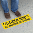 Electrical Panel Keep Area Clear