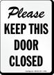 Door Gate Sign