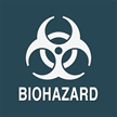 Contour/Esquire Biohazard Sign, 5.5in. x 5.5in.