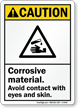 Caution ANSI Sign
