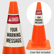Custom ANSI Danger Cone Collar