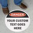 Osha Danger Slipsafe Floor Sign