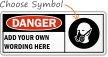 Custom Wear Breathing Apparatus Sign