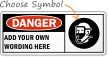 Custom Wear Breathing Apparatus Safety Sign