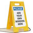FloorBoss XL™ Custom Floor Free-Standing Sign
