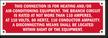 Custom Manufactured Home Equipment Label