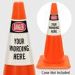 Custom OSHA Danger Cone Collar