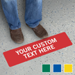 Custom Slipsafe Floor Sign