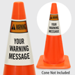 Custom Warning Cone Collar