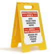FloorBoss XL™ Custom Floor Free-Standing Sign