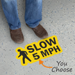 Slow - 5, 10, 15 MPH with Clipart