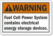 Danger Fuel Cell Power System Label
