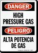 Bilingual OSHA Danger / Peligro Sign