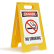 FloorBoss XL™ Free-Standing OSHA Danger Sign