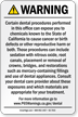Dental Care Exposure Prop 65 Sign