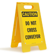 FloorBoss XL™ OSHA Caution Folding Floor Sign