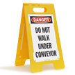FloorBoss XL™ OSHA Danger Standing Floor Sign