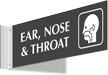 Ear No And Throat Corridor Projecting Sign