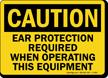 OSHA Caution PPE Sign