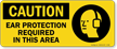 PPE OSHA Caution Sign