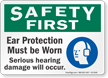 Safety First Sign