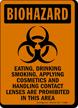OSHA Biohazard Sign