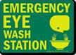 Eyewash Glow Sign