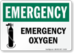 OSHA Emergency Sign