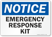 Notice Emergency Response Kit