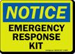 Notice: Emergency Response Kit