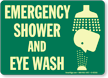 Emergency Shower and Eyewash (with graphic)
