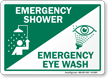 Emergency Station Sign