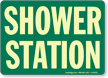 Shower Station