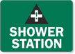 Shower Station (with graphic)