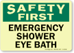 Safety First: Emergency Shower Eye Bath