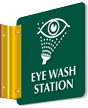 Eye Wash Station Double Sided Sign